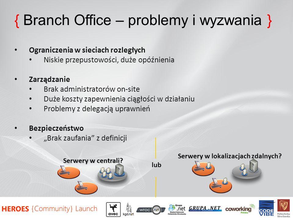 Serwery w lokalizacjach zdalnych