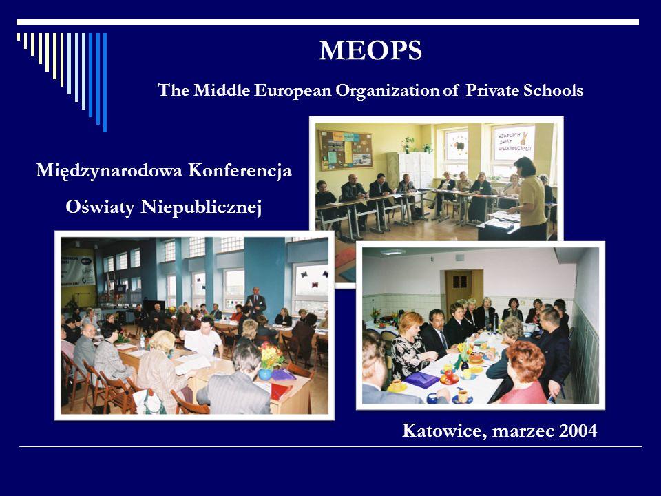 MEOPS Międzynarodowa Konferencja Oświaty Niepublicznej