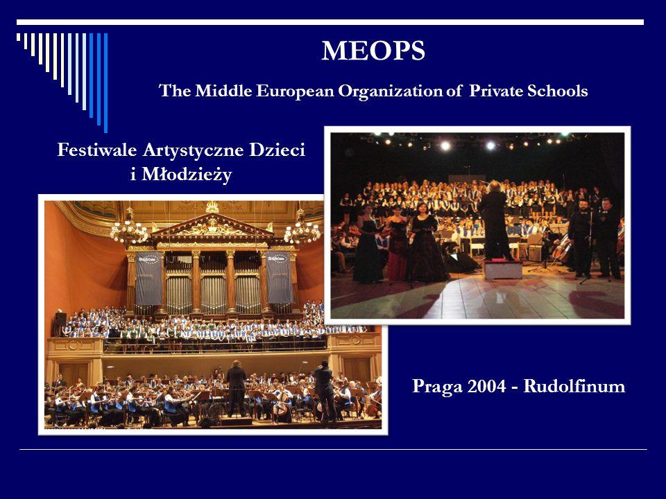 MEOPS Festiwale Artystyczne Dzieci i Młodzieży Praga 2004 - Rudolfinum