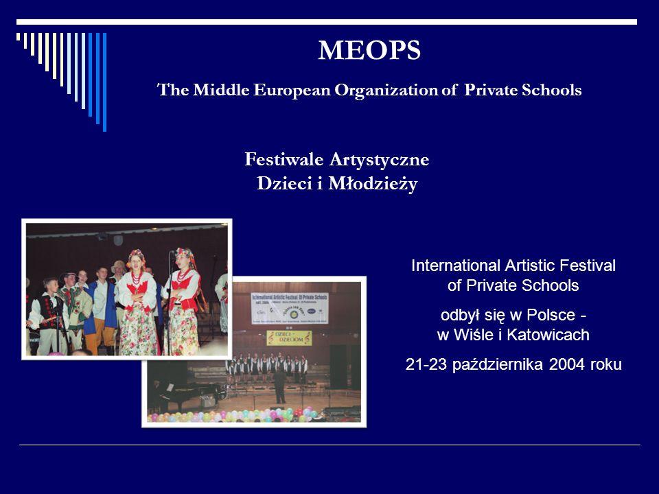 MEOPS Festiwale Artystyczne Dzieci i Młodzieży