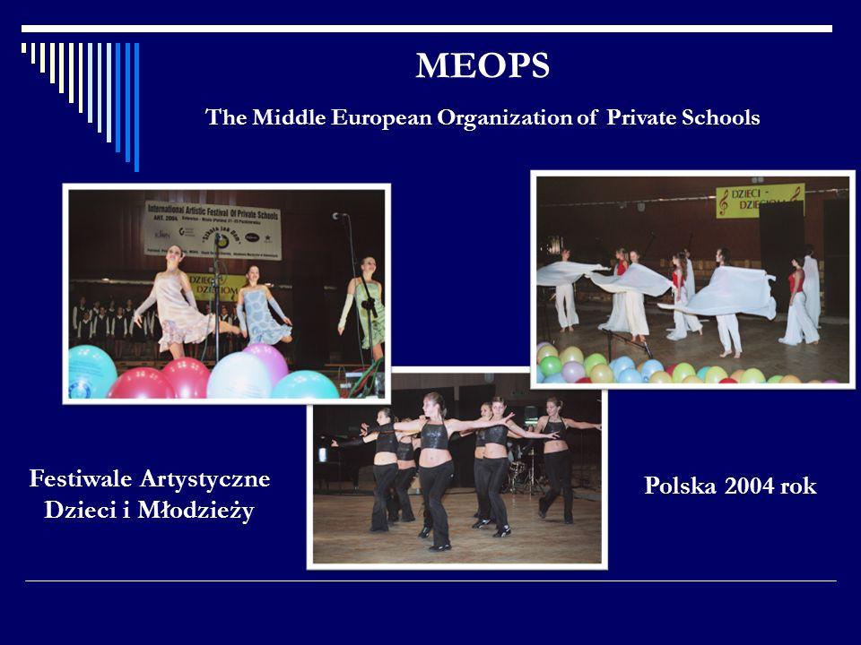 MEOPS Festiwale Artystyczne Dzieci i Młodzieży Polska 2004 rok