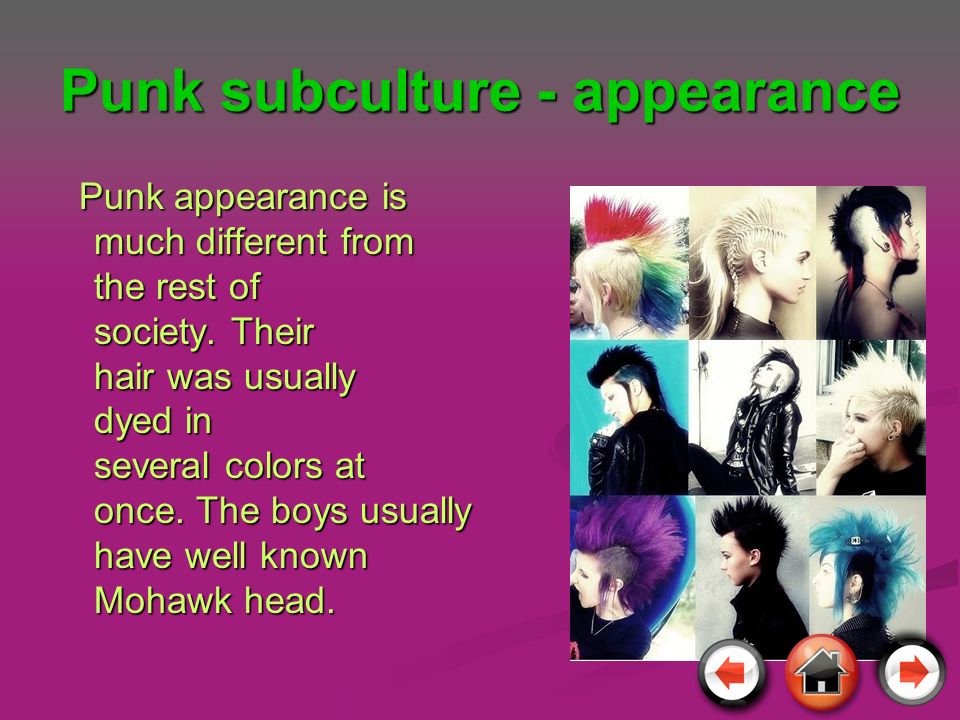 Punk subculture - appearance