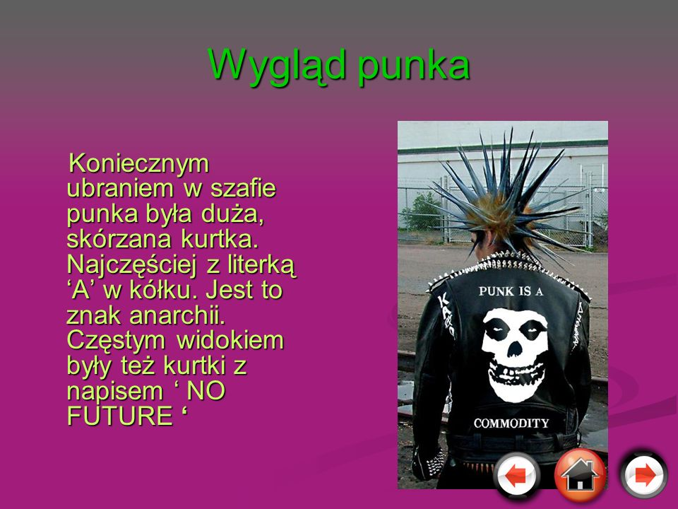Wygląd punka