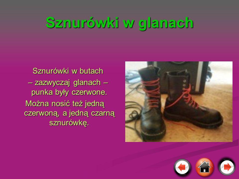 Sznurówki w glanach Sznurówki w butach