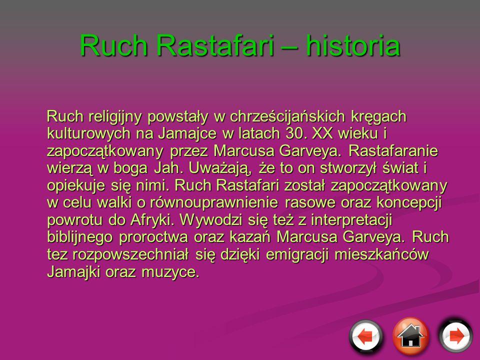 Ruch Rastafari – historia
