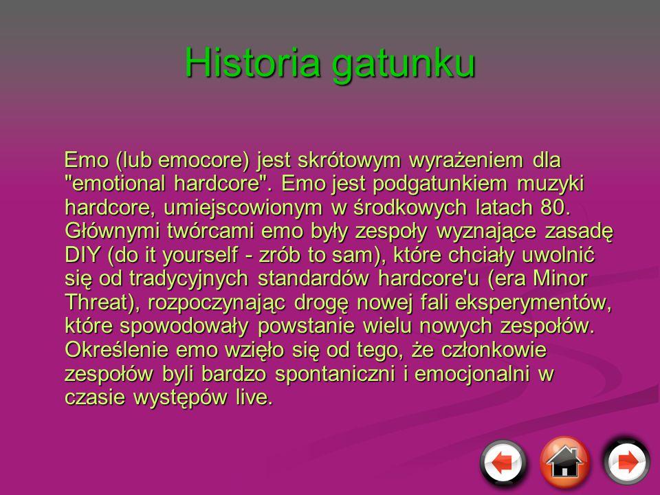 Historia gatunku