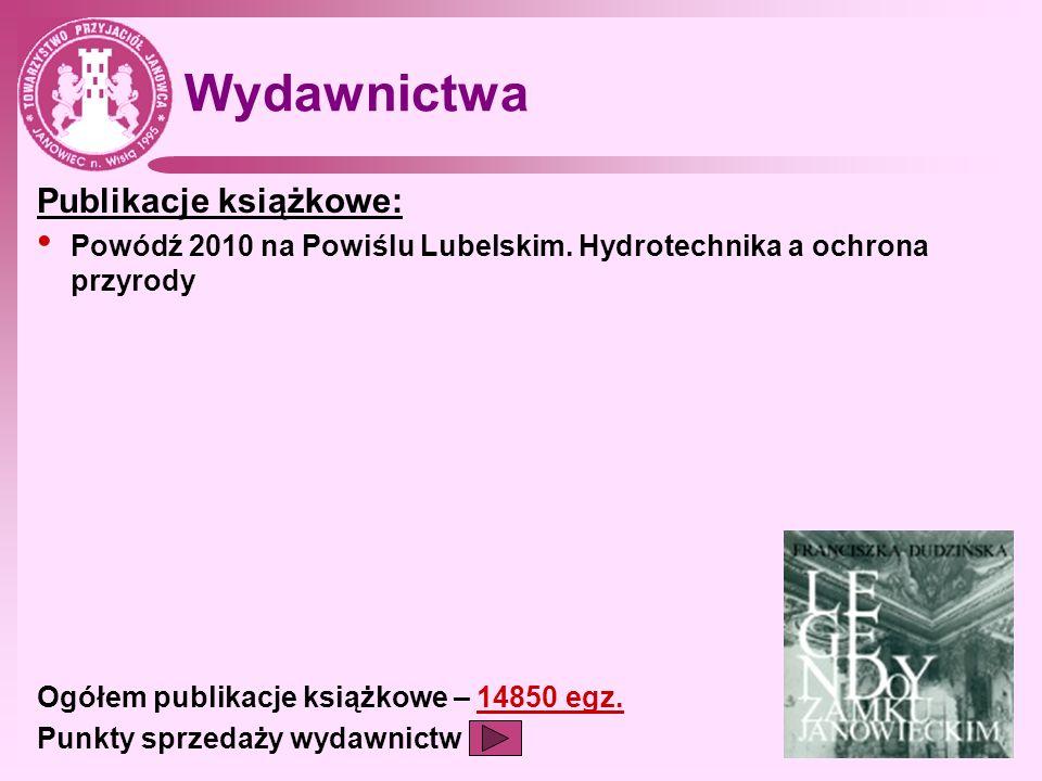 Wydawnictwa Publikacje książkowe: