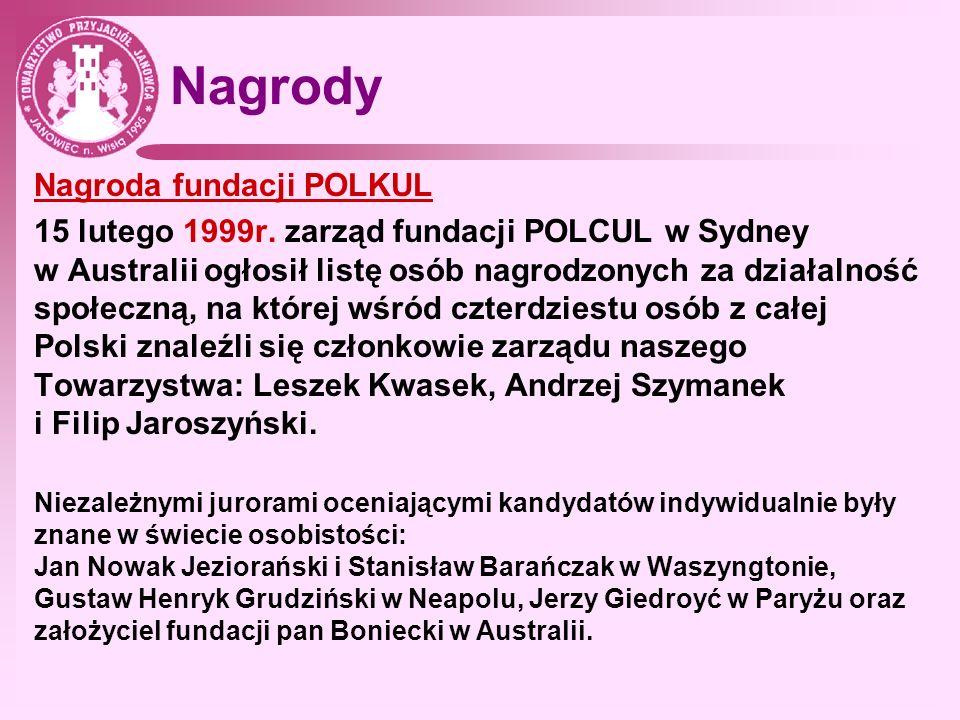 Nagrody Nagroda fundacji POLKUL