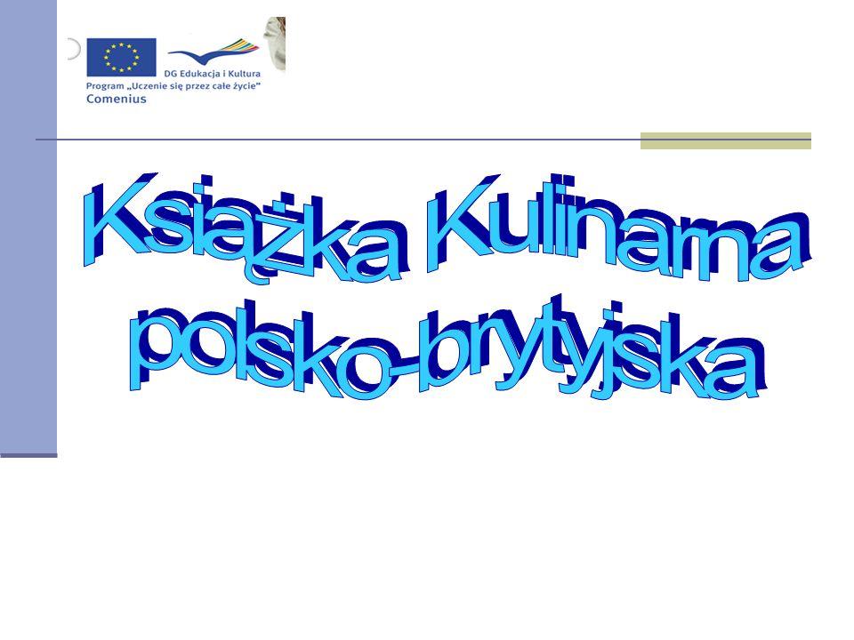 Książka Kulinarna polsko-brytyjska 1