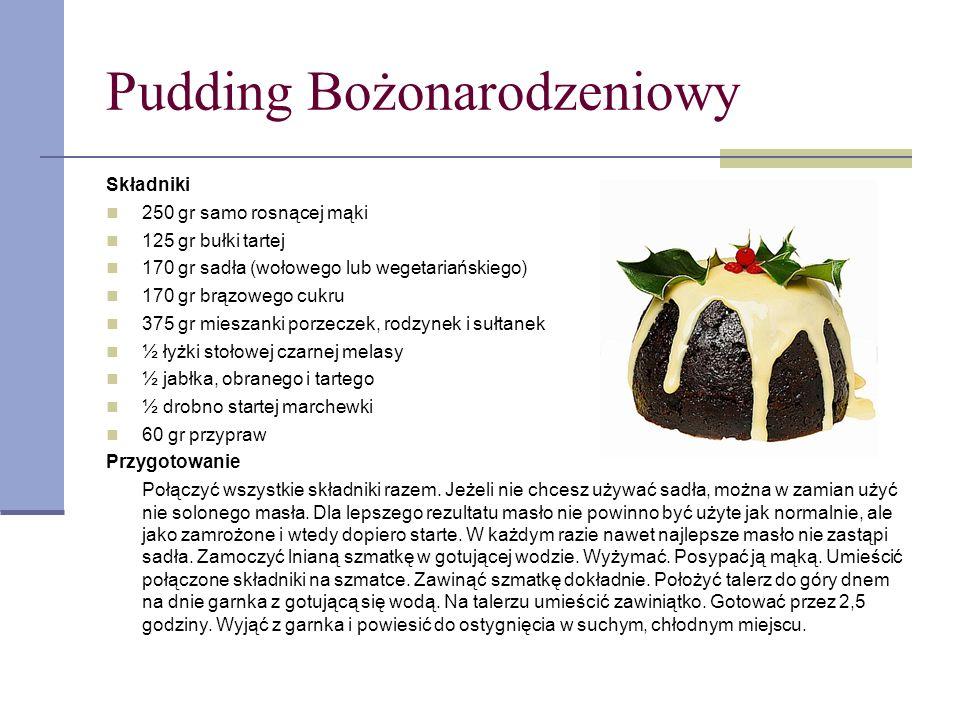 Pudding Bożonarodzeniowy