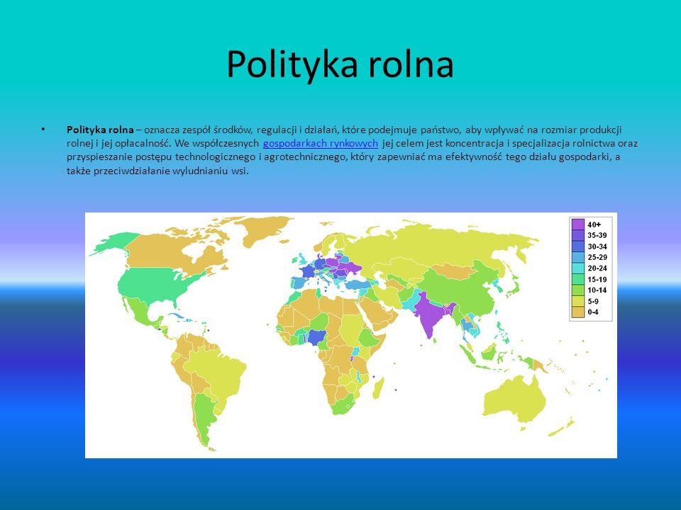 Polityka rolna