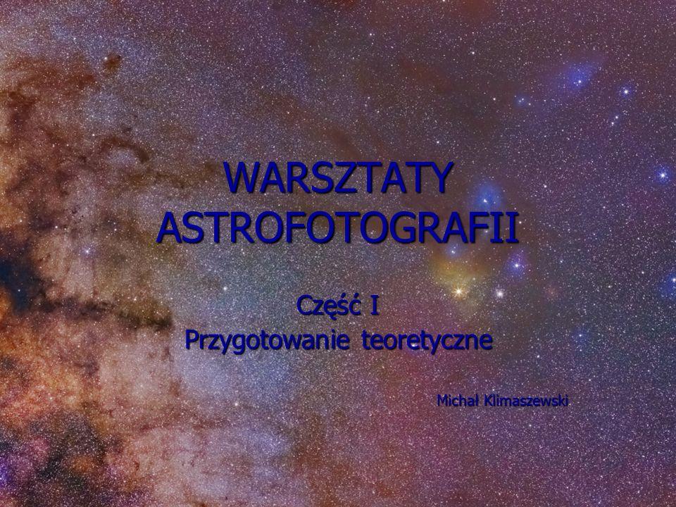 WARSZTATY ASTROFOTOGRAFII