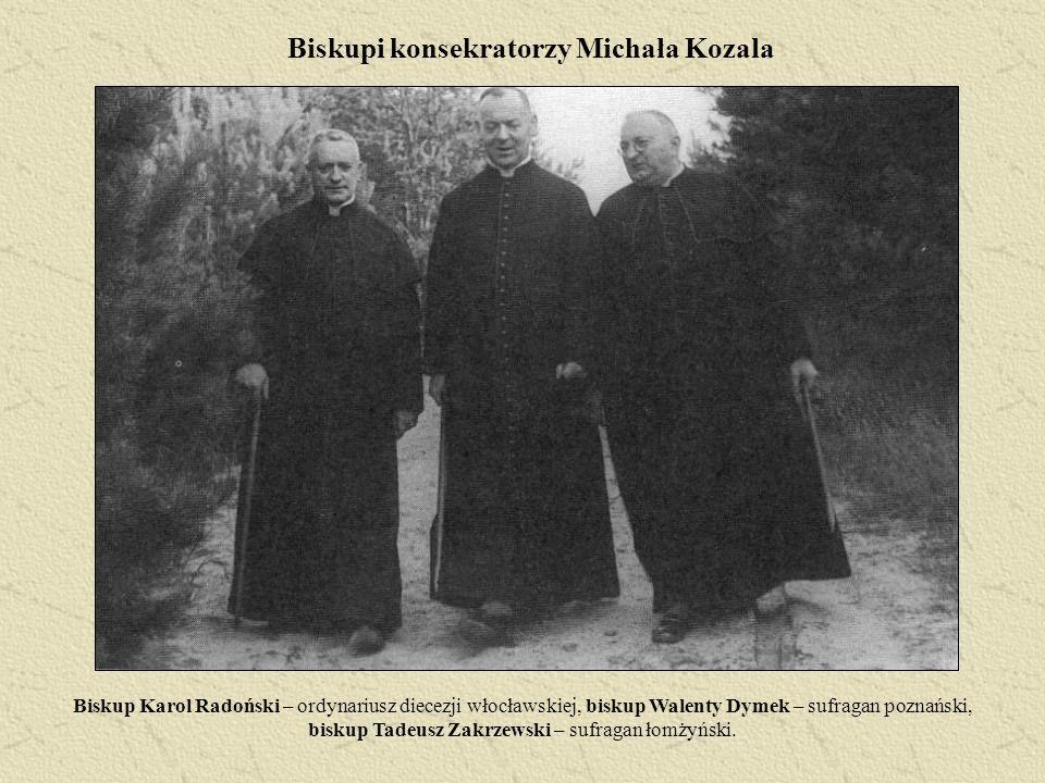Biskupi konsekratorzy Michała Kozala