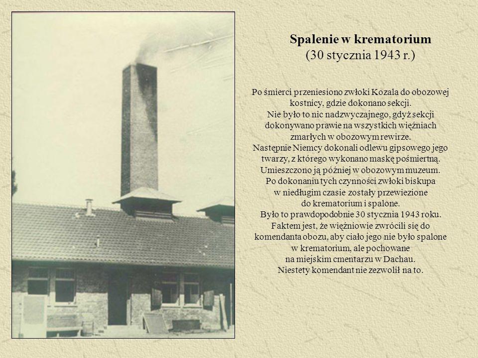Spalenie w krematorium (30 stycznia 1943 r.)