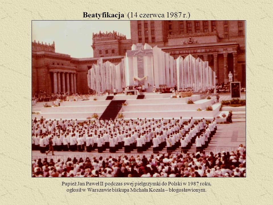 Beatyfikacja (14 czerwca 1987 r.)