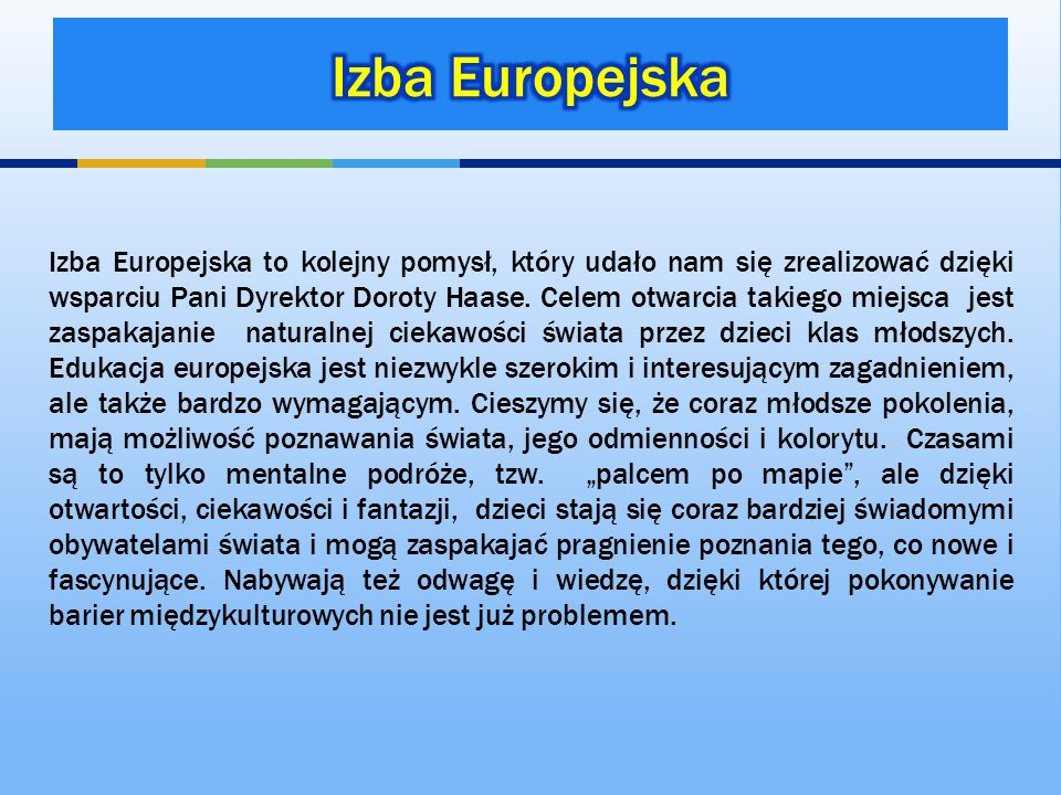 Izba Europejska
