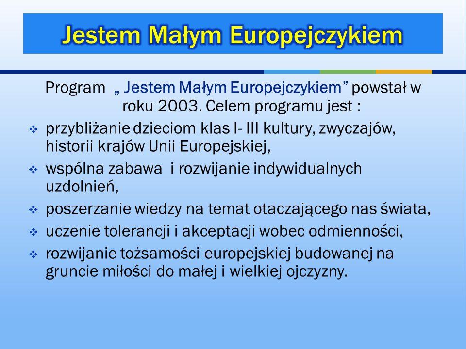 Jestem Małym Europejczykiem