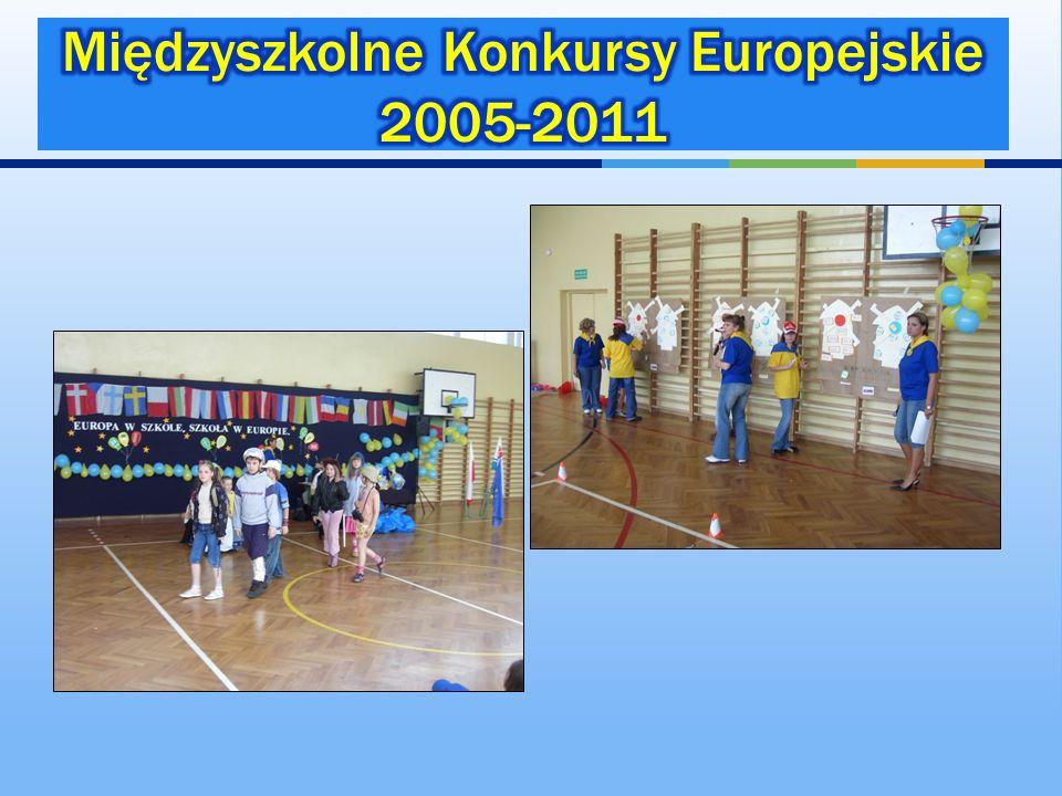 Międzyszkolne Konkursy Europejskie 2005-2011