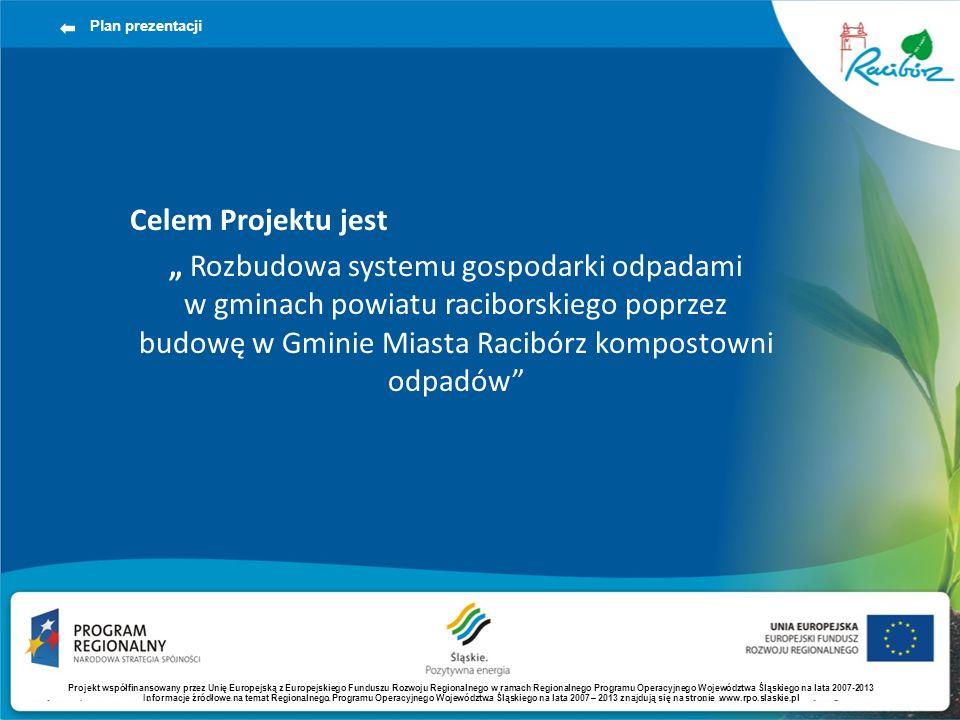 Plan prezentacji Celem Projektu jest.