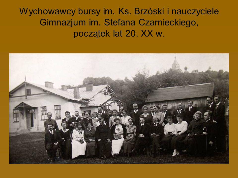 Wychowawcy bursy im. Ks. Brzóski i nauczyciele Gimnazjum im