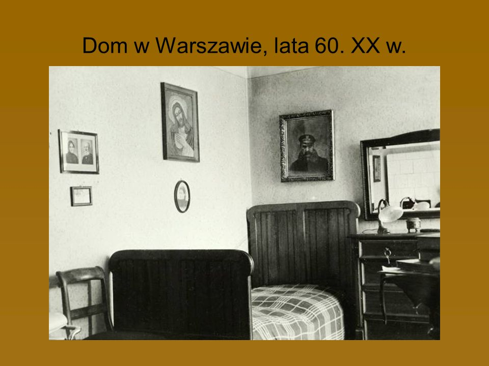 Dom w Warszawie, lata 60. XX w.