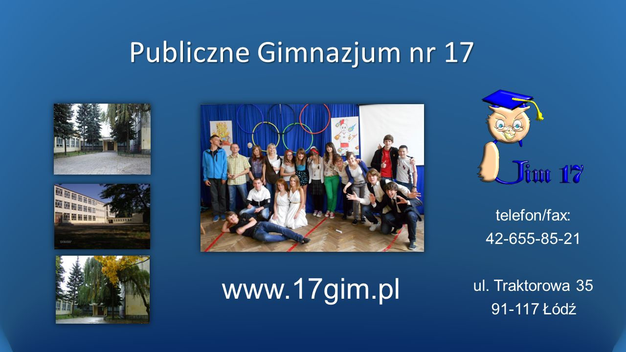 Publiczne Gimnazjum nr 17