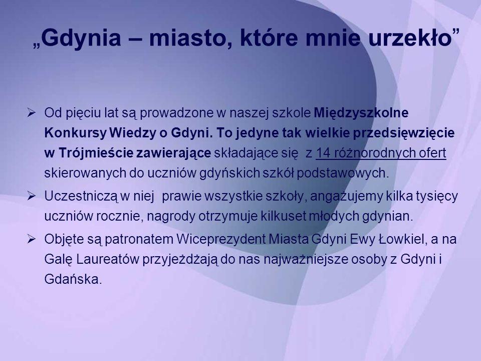 """""""Gdynia – miasto, które mnie urzekło"""