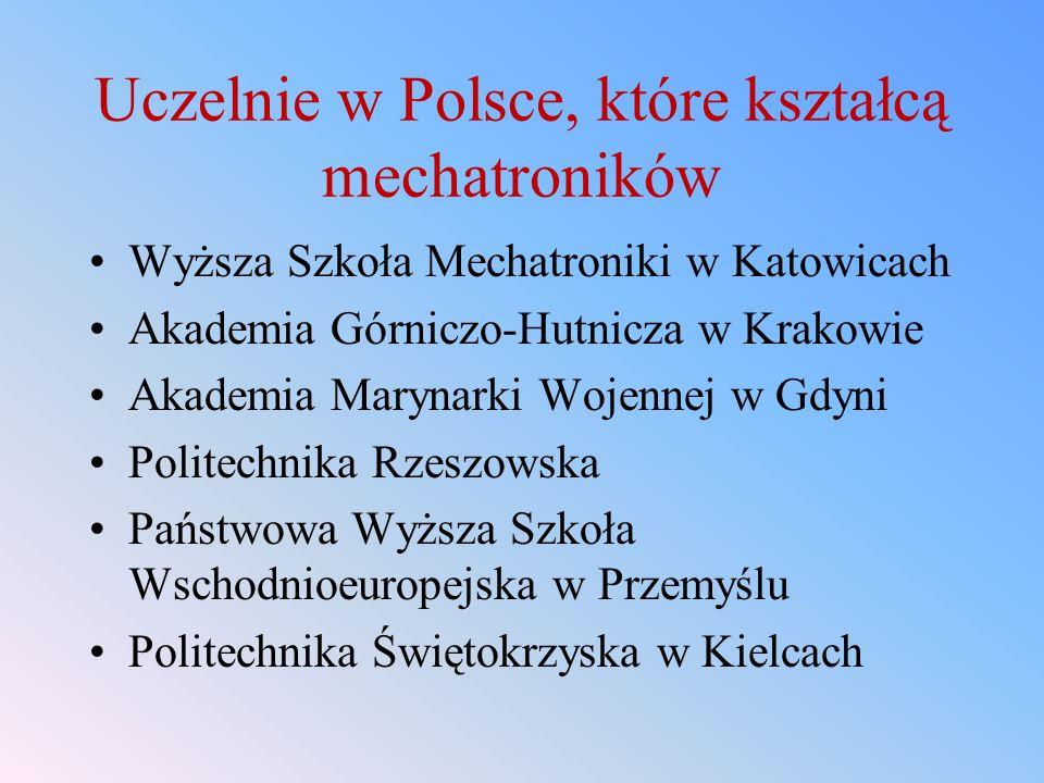 Uczelnie w Polsce, które kształcą mechatroników