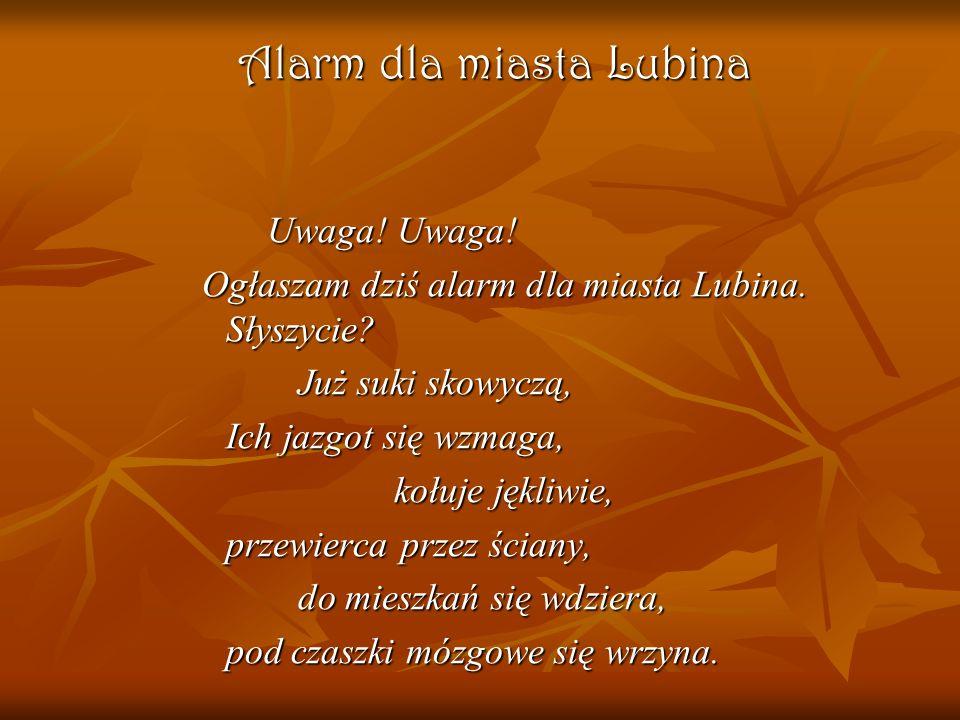Alarm dla miasta Lubina