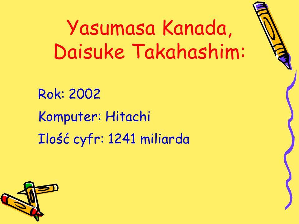Yasumasa Kanada, Daisuke Takahashim: