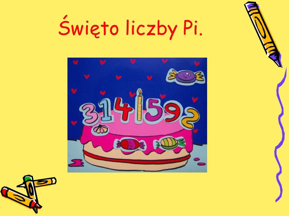 Święto liczby Pi.