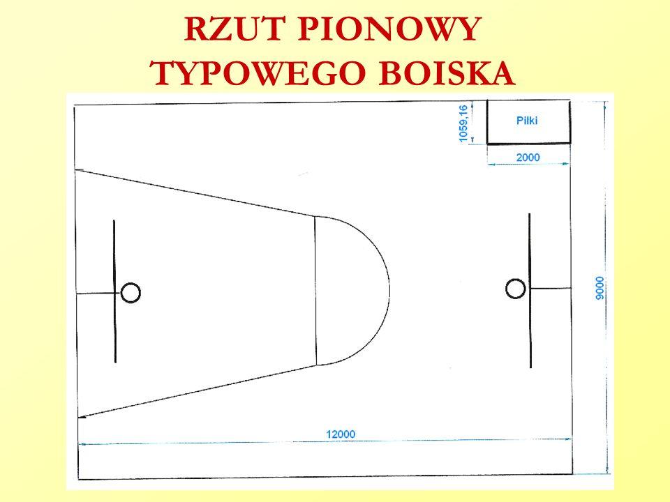 RZUT PIONOWY TYPOWEGO BOISKA