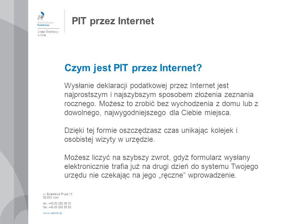 Czym jest PIT przez Internet