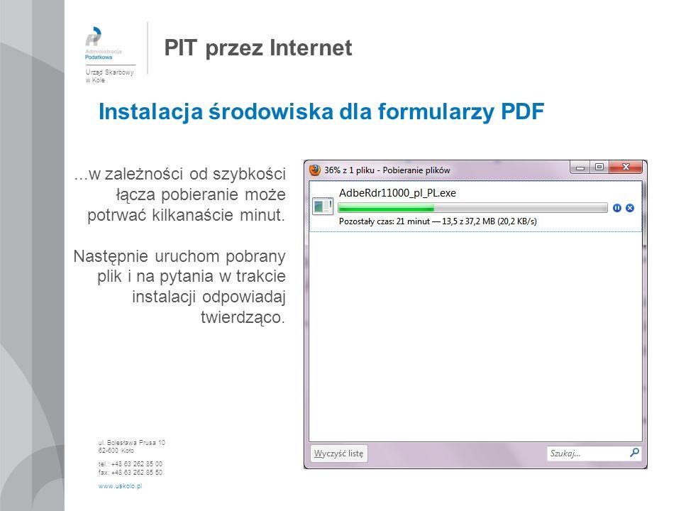 Instalacja środowiska dla formularzy PDF