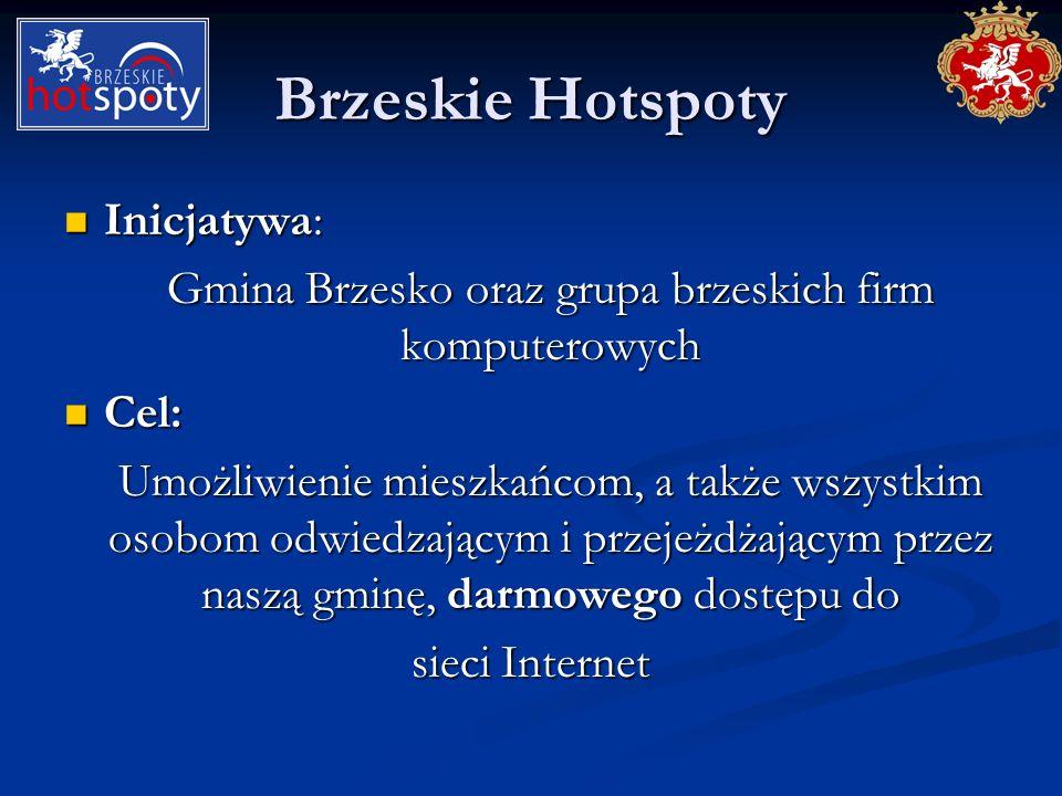 Gmina Brzesko oraz grupa brzeskich firm komputerowych