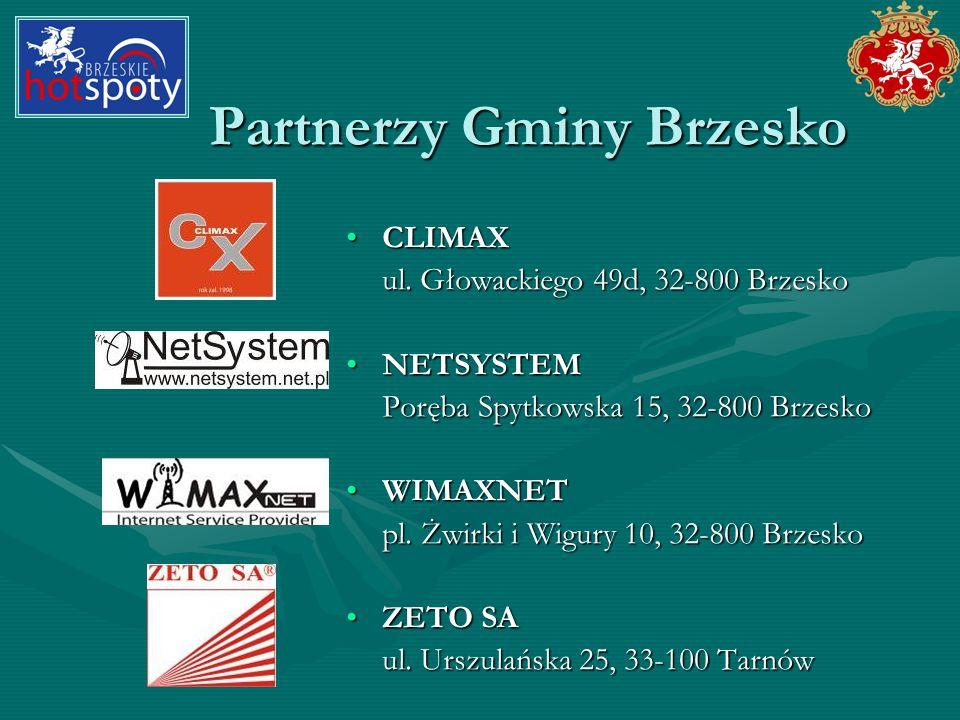 Partnerzy Gminy Brzesko