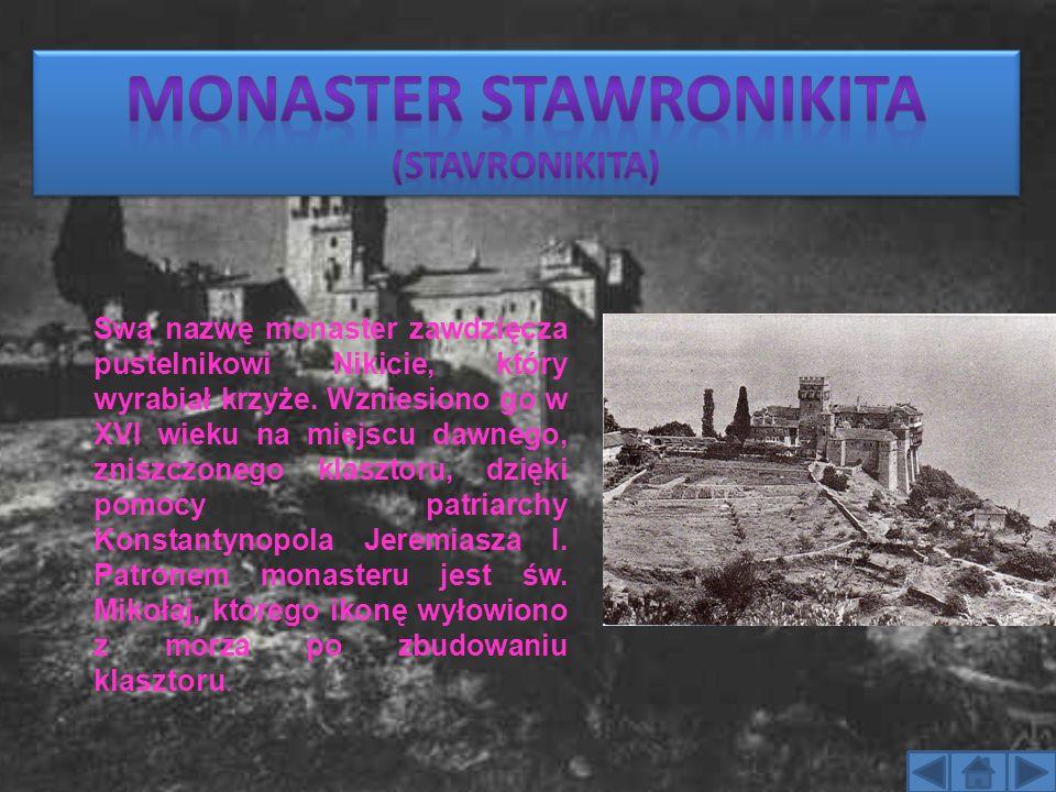 Monaster Stawronikita