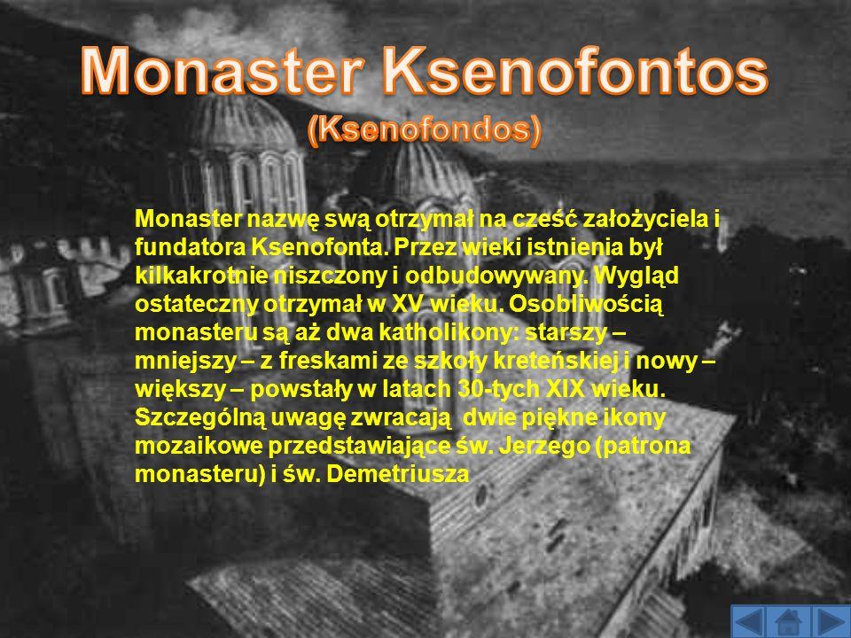 Monaster Ksenofontos (Ksenofondos)