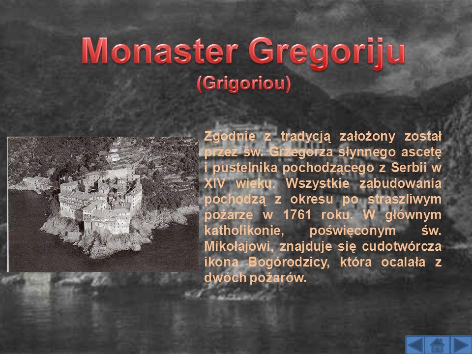 Monaster Gregoriju (Grigoriou)
