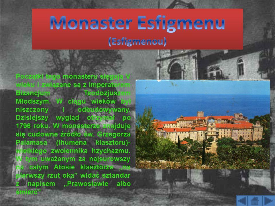 Monaster Esfigmenu (Esfigmenou)