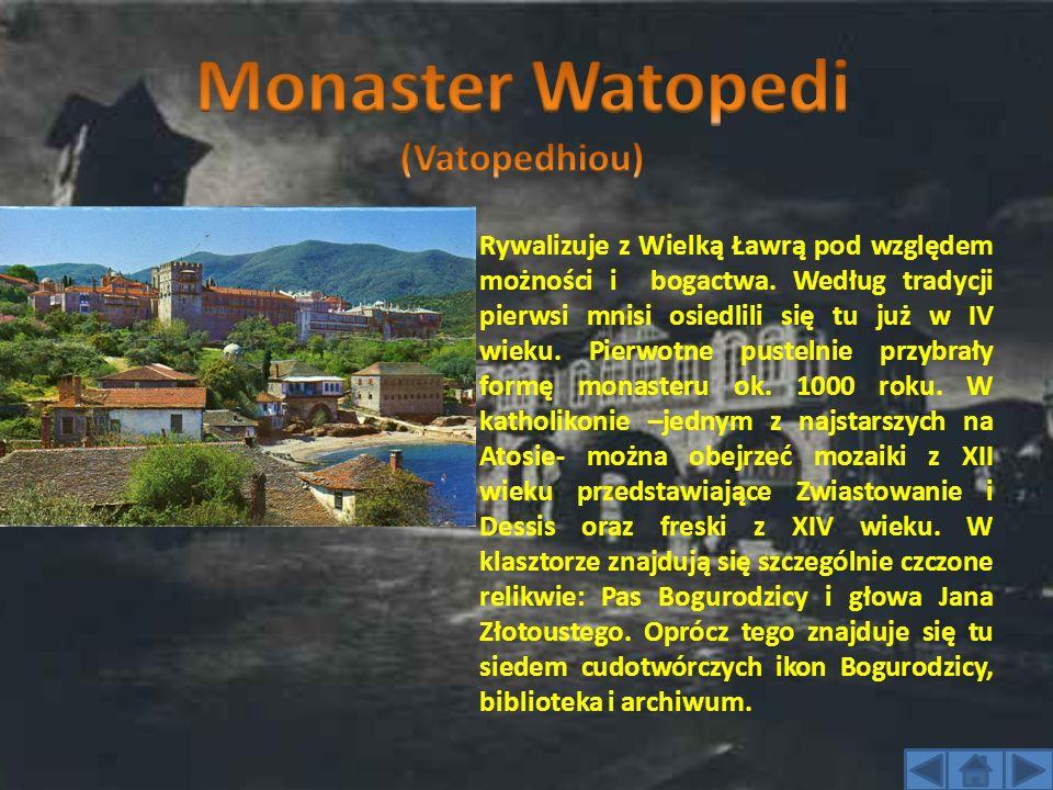 Monaster Watopedi (Vatopedhiou)