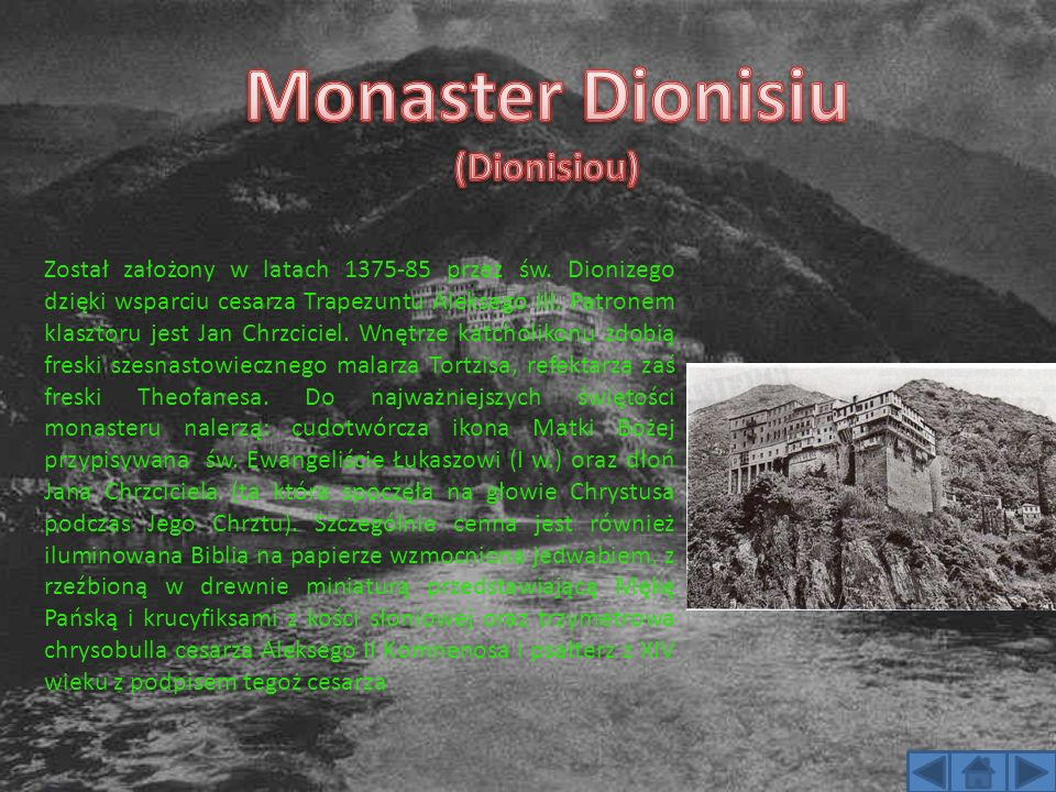 Monaster Dionisiu (Dionisiou)