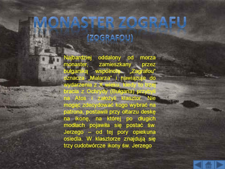 Monaster Zografu (zografou)