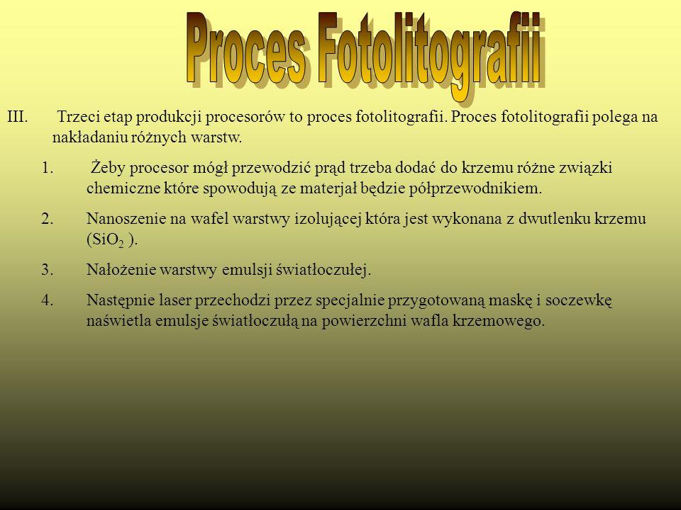 Proces Fotolitografii