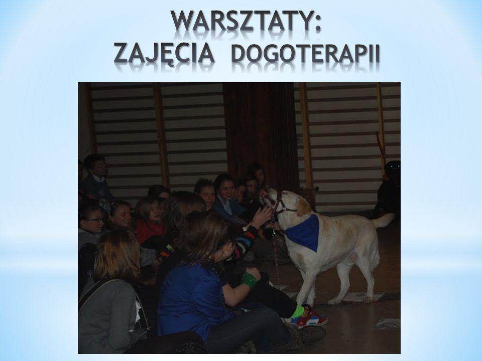 WARSZTATY: ZAJĘCIA DOGOTERAPII