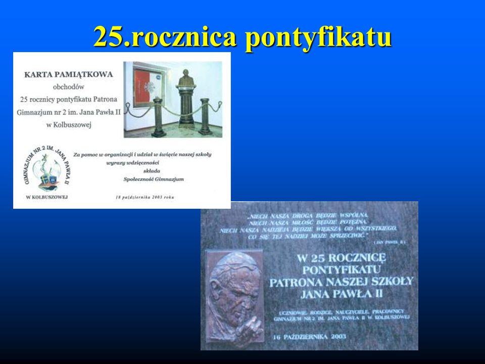 25.rocznica pontyfikatu