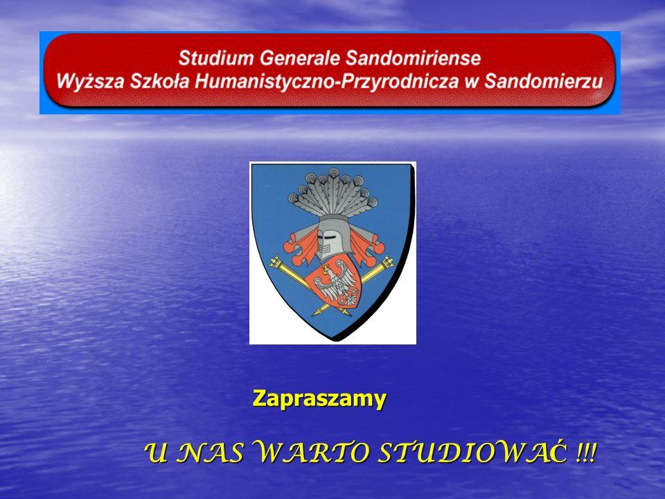 Zapraszamy U NAS WARTO STUDIOWAĆ !!!