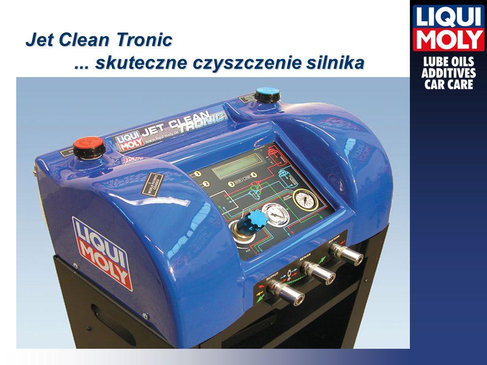 Jet Clean Tronic ... skuteczne czyszczenie silnika