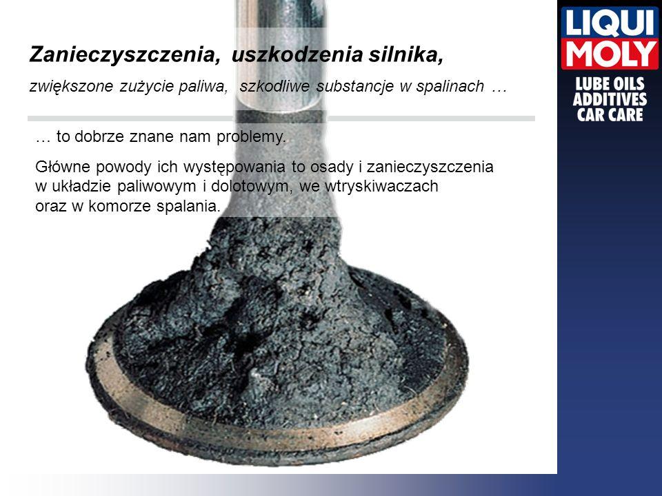 Zanieczyszczenia, uszkodzenia silnika, zwiększone zużycie paliwa, szkodliwe substancje w spalinach …