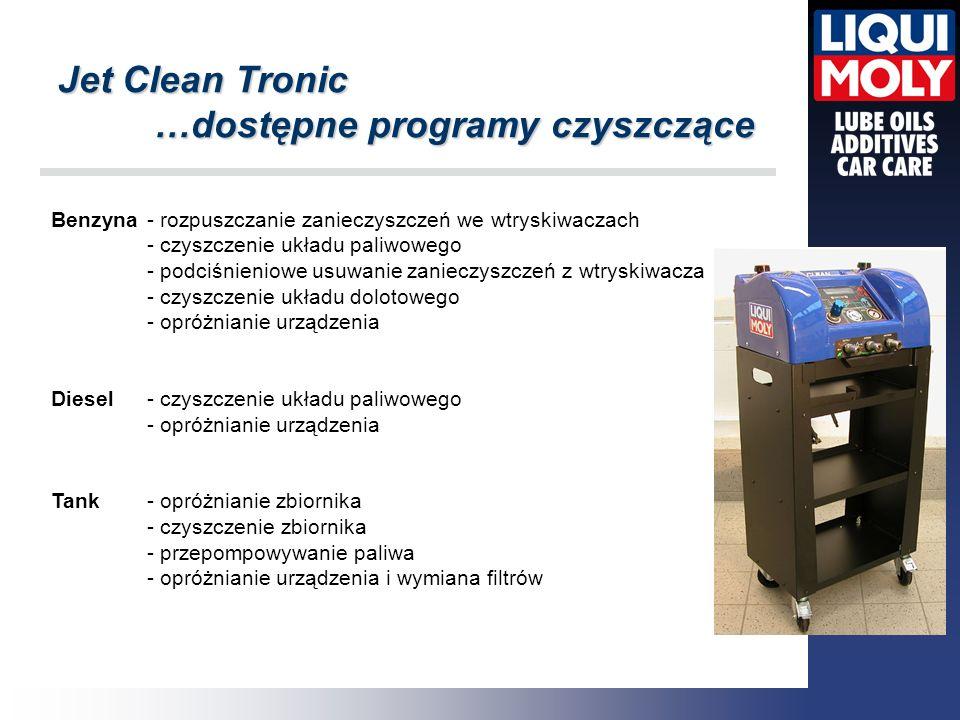 …dostępne programy czyszczące